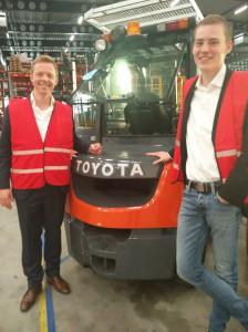 18-04-2018 Highlights, SMA Arnhem op bezoek bij Toyota Material Handling