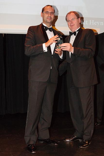 20121027 SMA Piet Heyn Award Netwerk VSP Lars Heugel Bernard Wientjes
