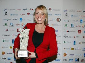 20130207 SMA Sales Event Winnaar Young Sales Professional Esther Veenendaal