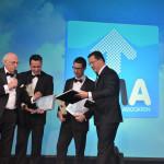 Uitreiking certificaten aan de winnaars SMA Sales Event 2014