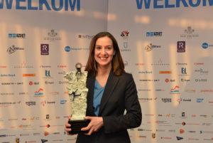 20160310 SMA Sales Event Winnaar Anne van Naerssen Young Sales Professional