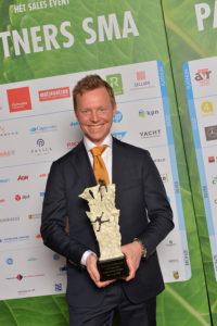 20180308 SMA Sales Event winnaar Senior Sales Ruben van den Burg