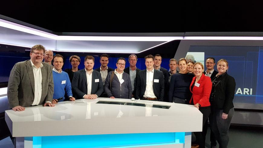 04-02-2019 : SMA Eindhoven op bezoek bij Omroep Brabant