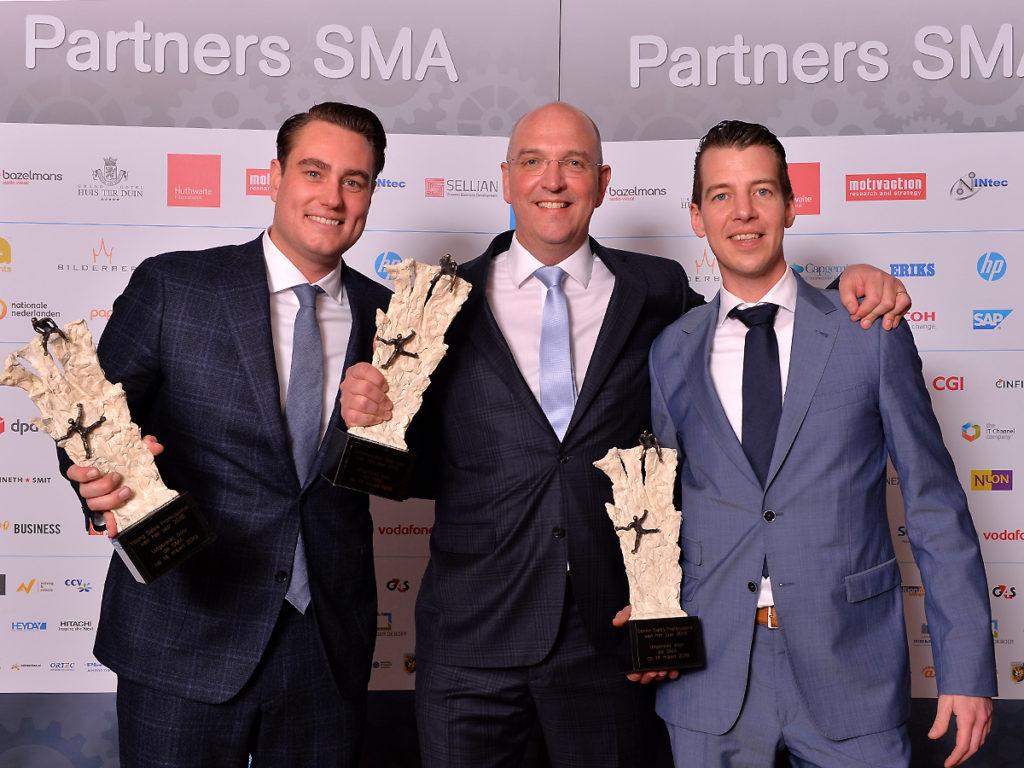 20190314 SMA Sales Event Winnaars Cees Verkuyl Derk van Manen Patrick Albers