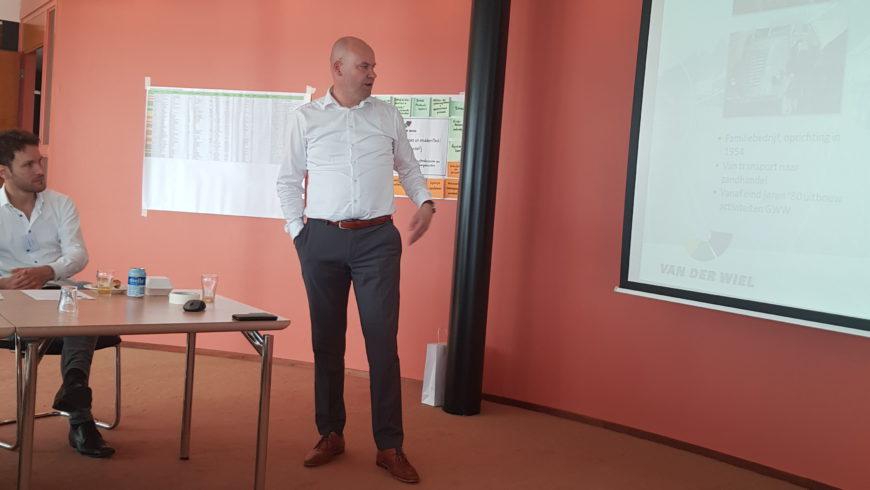 19-06-2019, SMA Friesland op bezoek bij Van der Wiel