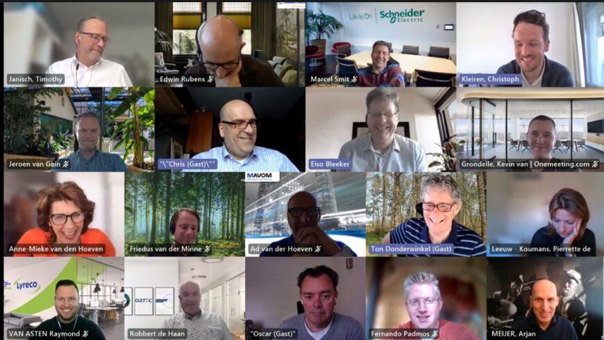 21/04/2021, peergroup SAM : Leiding geven in de post-corona tijd